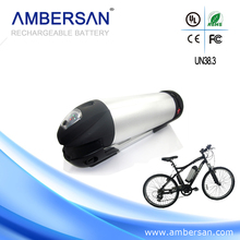 Deep cycle rechargeable 48v 8ah water bottle ebike battery pack for electric bicycle
