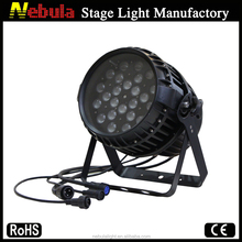 24*18w 6in1 rgbwa+uv Led Zoom Par Wall Washer IP65 Light
