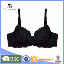 Top Selling Moder Stylish Black Delicates Brand Lingerie