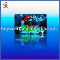 Plastic Halloween Card