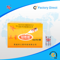 flexible 502 cyanoacrylate adhesive super glue for eva products