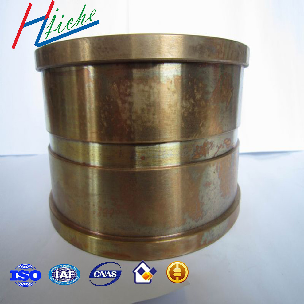 China custom brass copper cast alloy with high