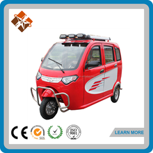 rear axle triciclos electricos closed cabin motor tricycle