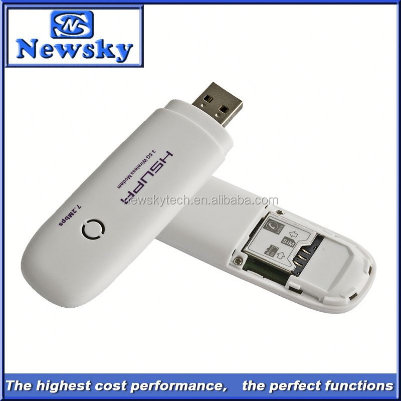Unlocked 7.2mbps hsupa windows 7 64 bit hsdpa usb modem 3g support pc voice/ussd/sms