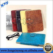 Luxury crocodile leather pattern for ipad 2 3 4 case.
