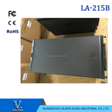 "High Quality LA-215b Dual 15"" Subwoofer with Power Amplifier Inside"