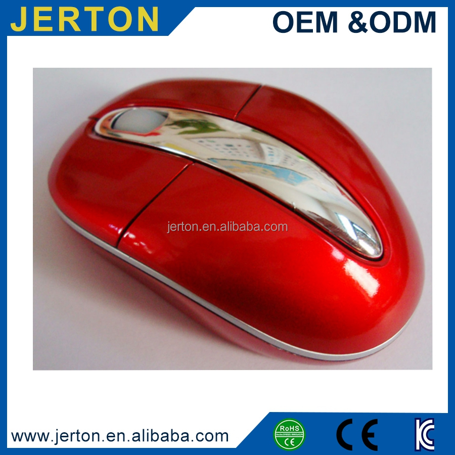 new red cordless usb receiver wireless 2.4g optical mouse vista usb 2.0 receiver