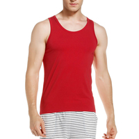China Apparel Factory Clothing Cheap Price Men's Underwear 100% Cotton Men's Tank top