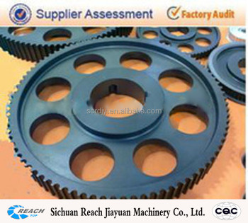 cast iron 14MGT timing pulley