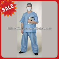 Disposable Nonwoven Hospital Uniform