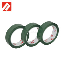 Free sample Hight Temperature Single Sided Green Silicone PET Adhesive Tape With Release Liner