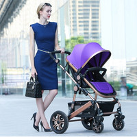 High Quality Landscope 900D Polyster and Foldable Baby Jogger Stroller