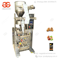 Automatic Snacks Coffee Bean Peanut Filling Herb Popcorn Chin Chin Packaging Garlic Filler Nut Kerala Food Packing Machine
