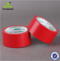 red adhesive PVC warning tape for the UAE