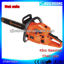 wood cutting hand tools 45cc chain saw with CE certification