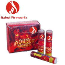 2014 New Product A026 Double Thunder rocket fireworks Wholesale Factory Price