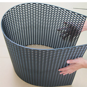 Perforated Plastic Mesh Sheets For Speaker Car Grills