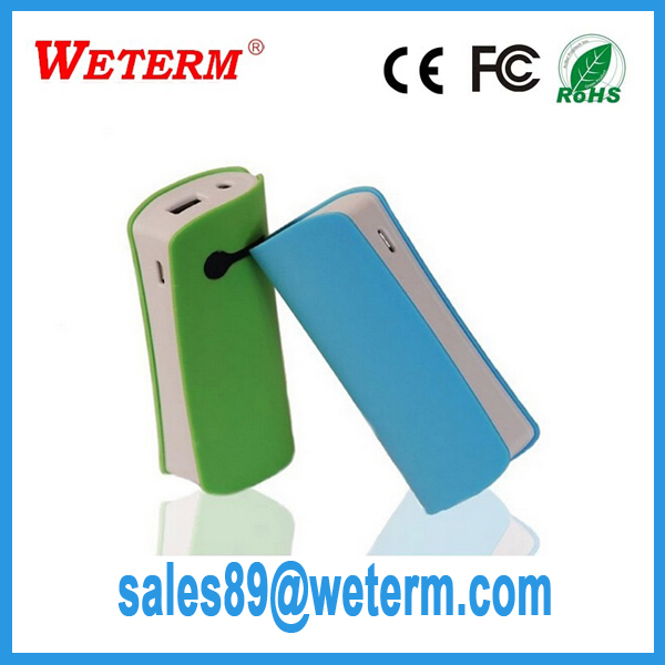 power bank 4400 with retail package pocket charger for mobile phone