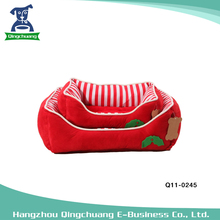 New year designer christmas dog bed pet accessories kennel