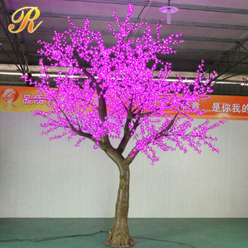 3.5M artificial light decorative artificial tree