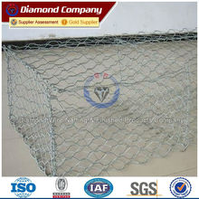 Galvanized gabion basket / galvanized gabion / anping hexagonal mesh ( factory)