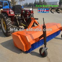 Tractor Hitch Nylon Brush turf sweeper