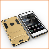 Factory hybrid armor phone case for huawei p8 lite
