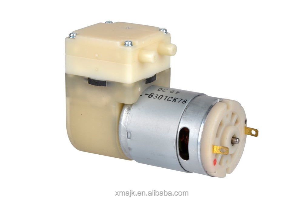 12V small diaphragm pump long life micro air vacuum pump for breast pump