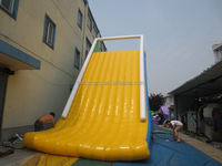 commercial use giant inflatable water slide for adult