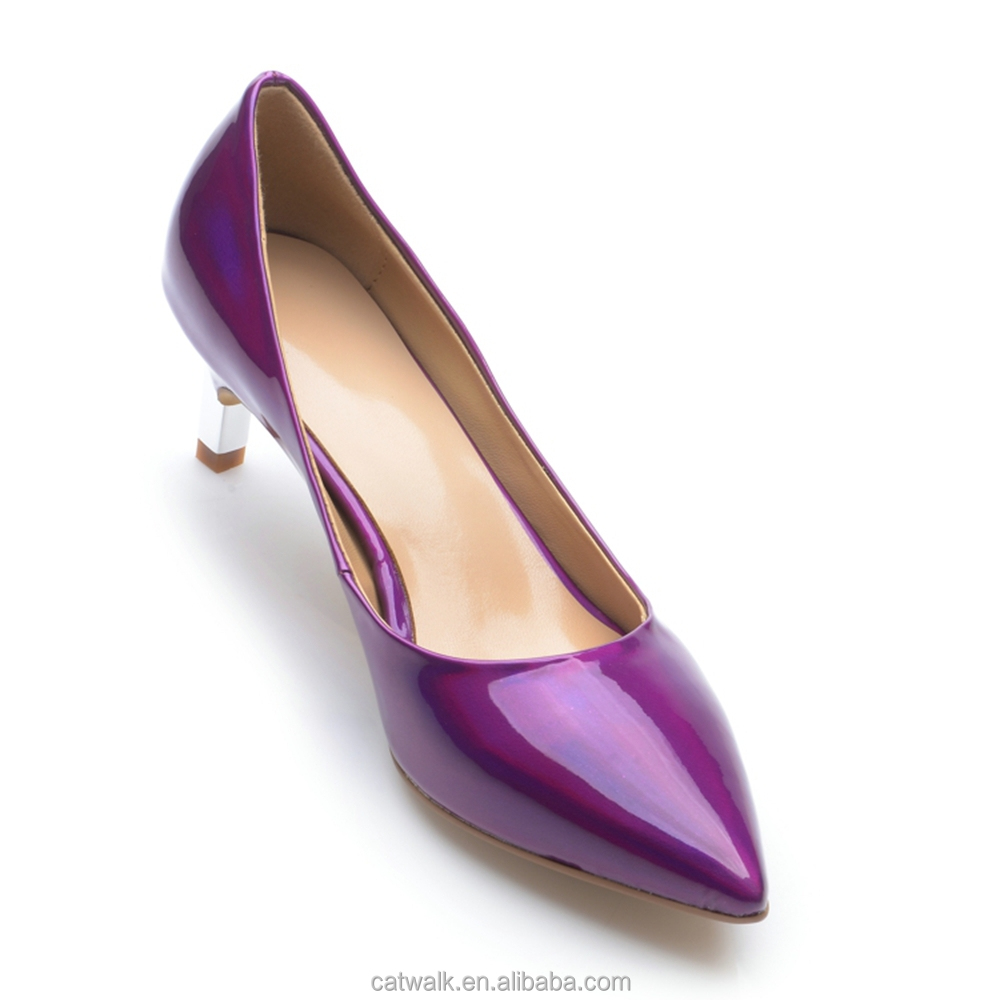 Designer Purple Heels