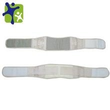 Auto-heating magnetic back support belt tourmaline