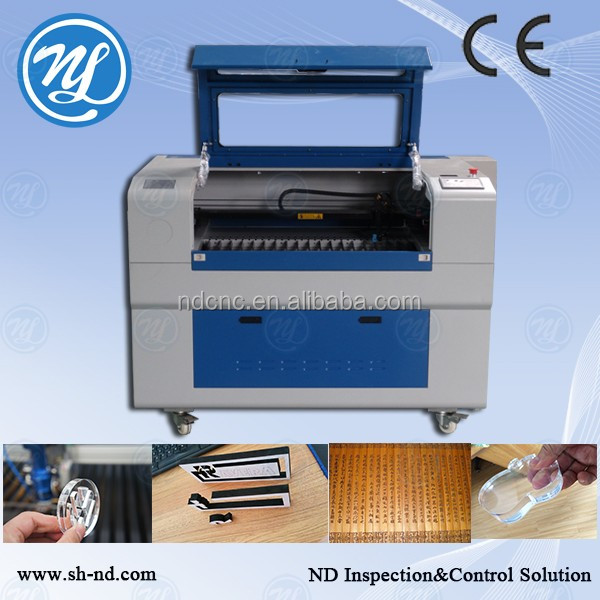 acrylic solid surface machine/ laser engraving and cutting machine NDJ6090 100W