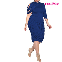 Hot Fat Size Girls Party Bodycon Dress For Fat Women