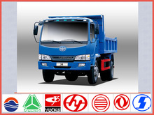 China brand new FAW J4 5ton 4*4 mini dump truck for sale in hollyhood