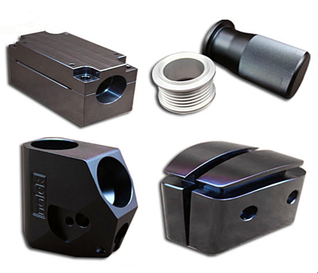 <strong>CNC</strong> turning milling mechanical black anodized aluminum car mechanical parts