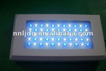 120 watt aquarium coral reef led grow light dimmable 3 watt led reef tank lighting 28blue: 27white led freshwater aquarium light