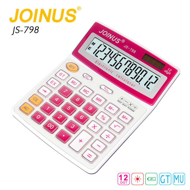 JOINUS High Quality Home 12 Digit Calculator Wholesale