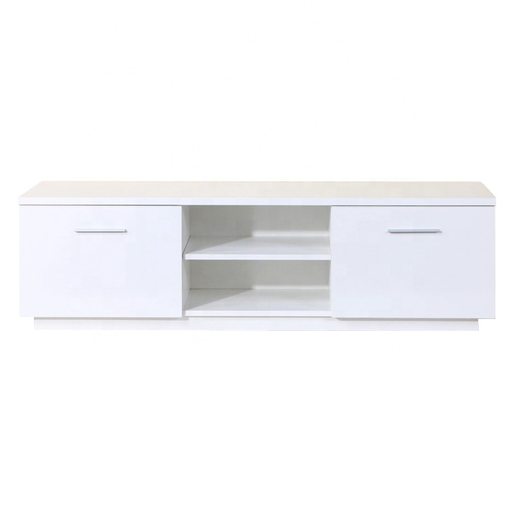 hot saling modern white particle board tv stand