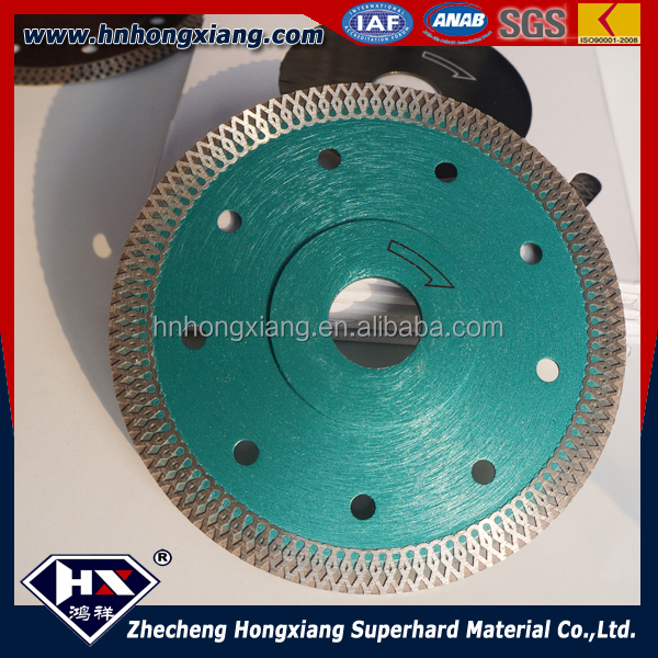 Super quality Factory manufacturer X turbo diamond saw blade for tiles and granite