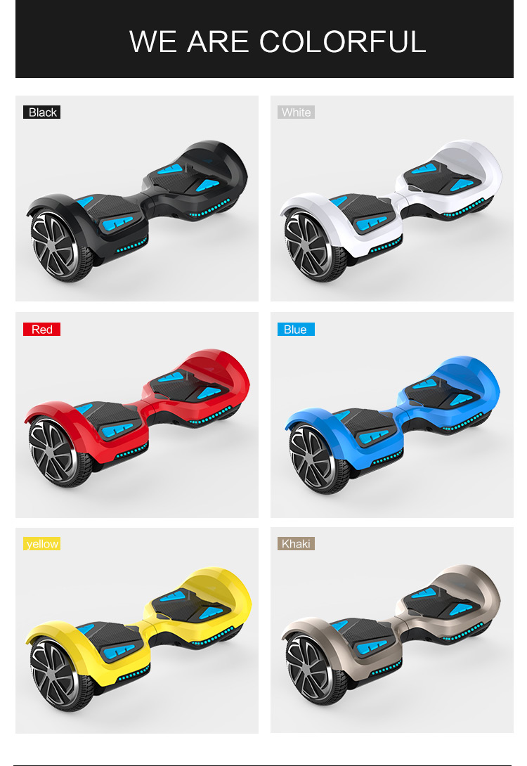 Hover Board Smart Drifting Scooter Tomoloo K3 with samsung battery and bluetooth