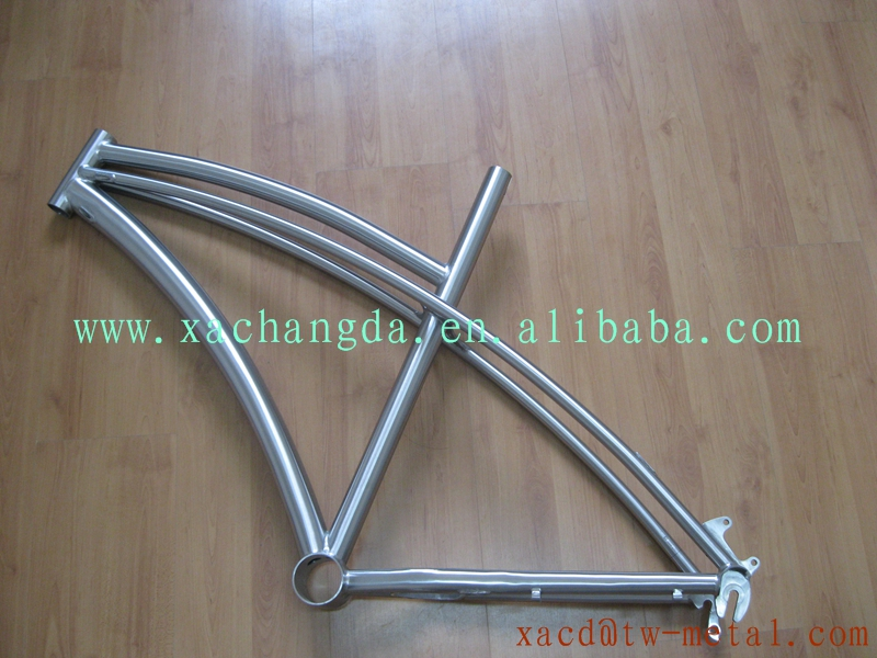 xacd made titanium fat bike frame hot sale Titanium fat bike frames Ti fat bike frame