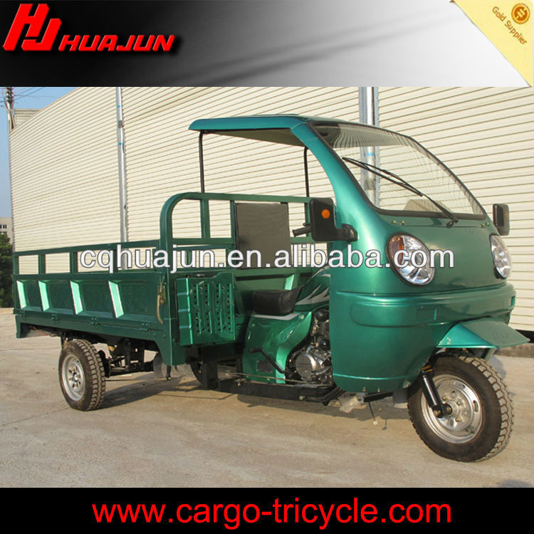 ABS Semi-enclosed Cabin motor tri cycle