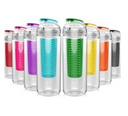 2018 Hot Products Nike Sport Fruit Infuser Water Bottle With Custom Logo
