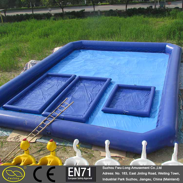 0.6~0.9 mm PVC indoor outdoor summer adult kids customized inflatable pool, giant inflatable pools, giant inflatable pool float