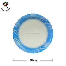 6 7/8 In Design Plate 18 cm Disposable Paper Plates