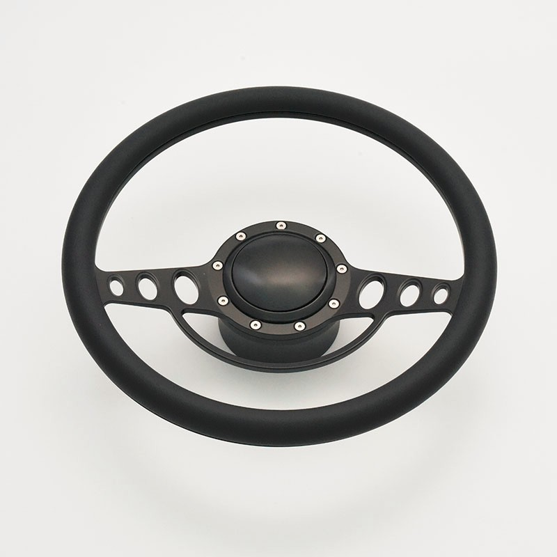 China 15.5 inch 9 bolt CNC Billet fit steering wheel