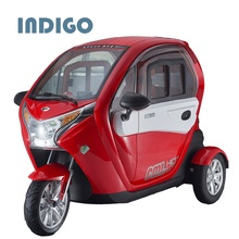 Professional and cheap double seat mobility tricycle delivery cargo tricycle with EEC certification
