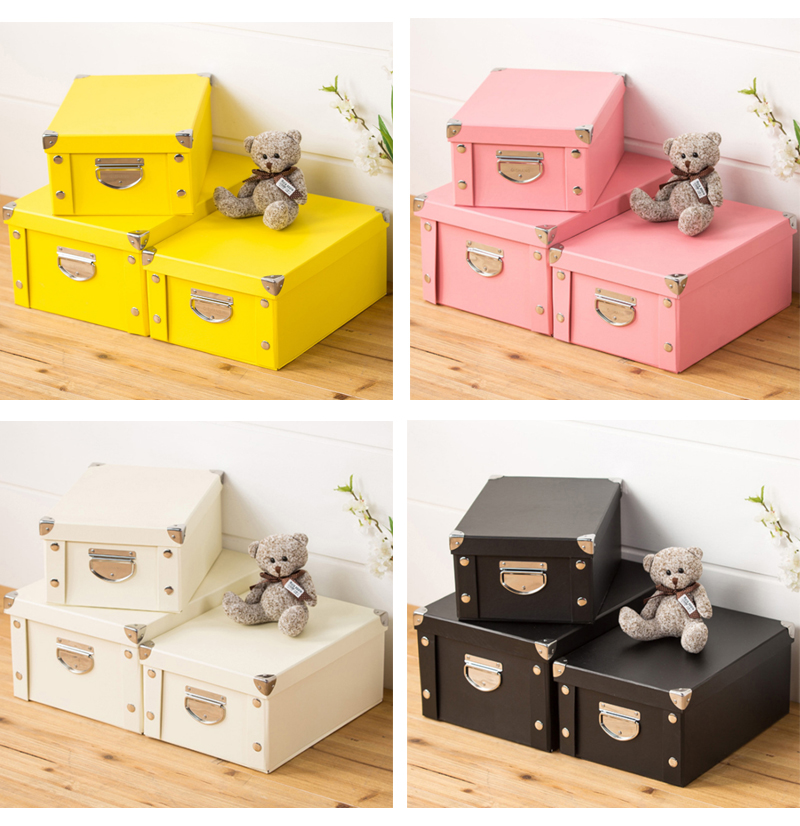 2019 Gift Box Multiple Choice Cardboard Storage Boxes Bins with Lids