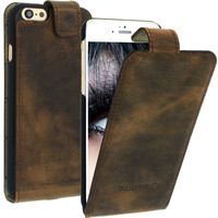 Geniune Leather case for iPhone 6 | 4.7 inch Antic Brown Cow Leather