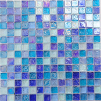 High quality ceramic swimming pool tiles,glass mosaic tile,with trade assurance by alibaba